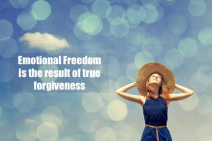Forgiveness, Emotional Freedom