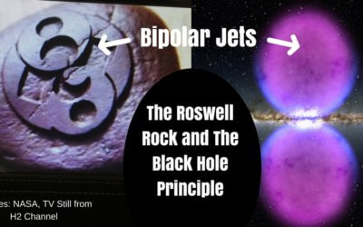Does the Roswell Rock depict The Black Hole Principle?